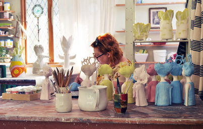 Creatives at Home: Clairy Laurence in Her Ceramics Studio