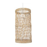 Milton Natural Woven Cylinder Light Shade