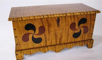 Queen Anne Mini Blanket Box - Handmade Custom Wood Furniture