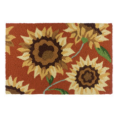JellyBean Accent Rug Provence Sunflowers