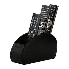 Sonorous - Luxury Remote Control Holder, Black - Media Storage
