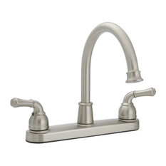 Banner High Arch Kitchen Faucet, Brushed Nickel