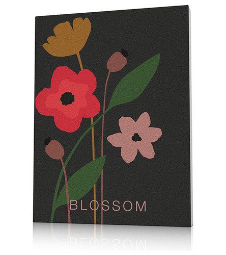 Tableau fleurs colorées - Imprimé et Poster