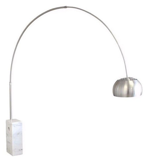 Arco Marble Floor Lamp Contemporary Floor Lamps By