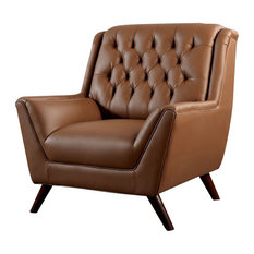 Furniture of America E-Commerce by Enitial Lab - Bonded Leather Upholstered Arm Chair Button  sc 1 st  Houzz & Midcentury Modern Recliner Chairs | Houzz islam-shia.org