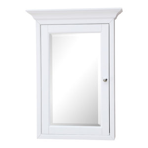 Newport Wall-Mounted Medicine Cabinet, White