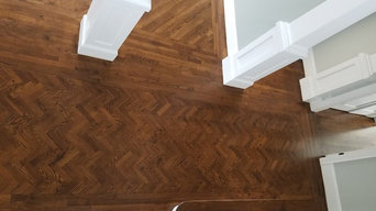 Mendham nj dustless sand Waterpop stain bona spice brown and finish w 4 coats tr