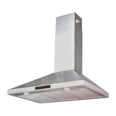 kitchen bath collection stainless steel wall range hood 36 range hoods and - Contemporary Kitchen Appliances