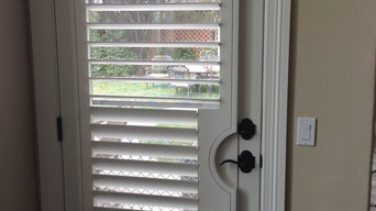 Shutters in transitional space.
