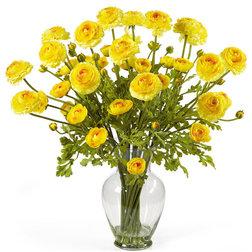 Contemporary Artificial Flower Arrangements by Bathroom Marketplace