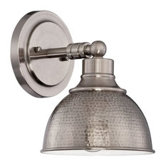 Craftmade Timarron 1-Light Wall Sconce, Antique Nickel