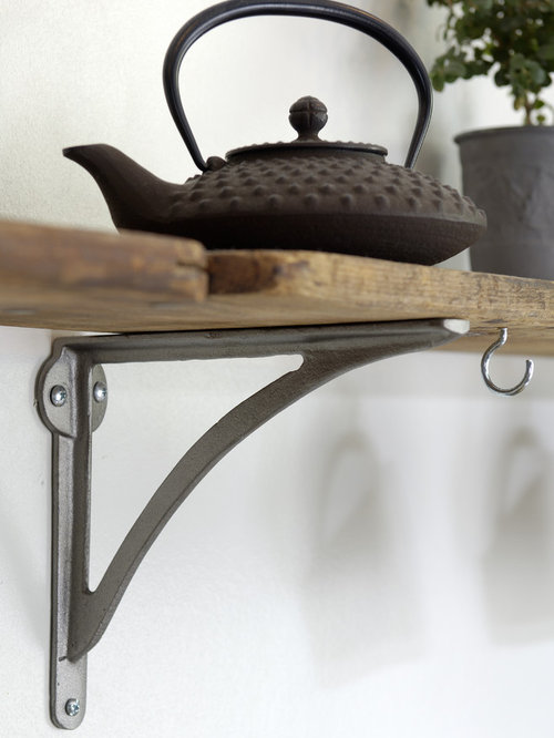 Vintage Iron Shelf Brackets Ideas Pictures Remodel And Decor