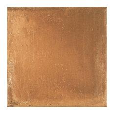 "13""x13"" Rustique Porcelain Floor/Wall Tiles, Set of 12, Cotto"