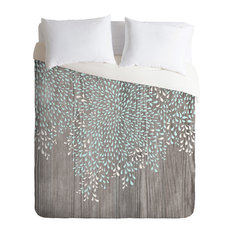 Deny Designs Iveta Abolina Coastal Raindrops Duvet Cover Lightweight Covers