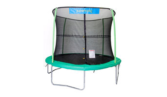 Trampoline and Enclosure with 4 Legs and 4 Poles
