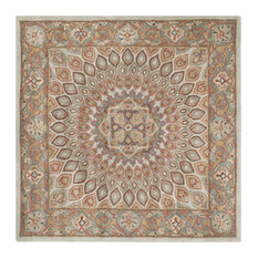 Safavieh Peyton Hand Tufted Rug Blue Gray 10 X10 Square