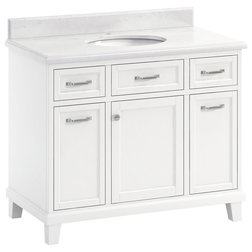 Transitional Bathroom Vanities And Sink Consoles by Lanza Products, Inc.