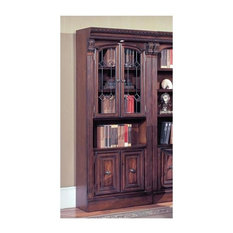 Parker House - 32 Inch Glass Door Cabinet w Storage Base - Huntington -  Bookcases