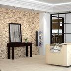 Living Room With Lutron Homeworks Lighting Control