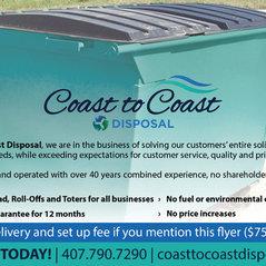 Coast To Coast Disposal Orlando Fl Us 32804