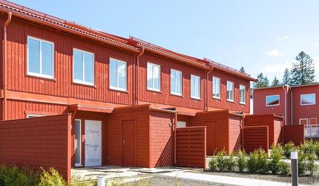 Мир дизайна: Что такое Radhus — таунхаусы по-шведски