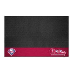 "Fanmats 12164 MLB, Philadelphia Phillies Grill Mat, 26""x42"""
