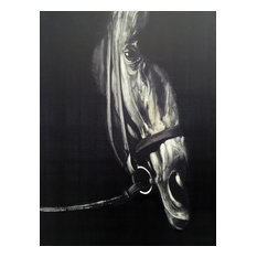 Wall Decor Painting Horse in the Dark IV