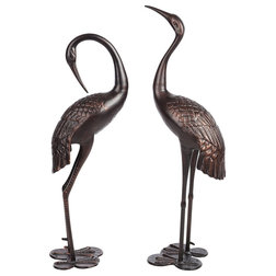 Transitional Garden Statues And Yard Art by Home Garden Collections