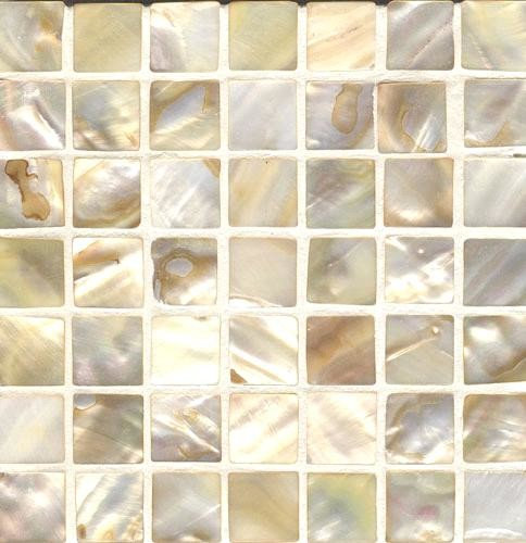 """Mother of Pearl 1"""" Mosaic pieces - Tile"""