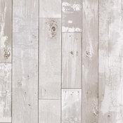 Heim Distressed Wood Panel Faux Texture Wallpaper, Bolt