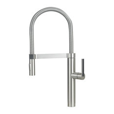 blanco blanco culina polished chrome kitchen faucet kitchen faucets