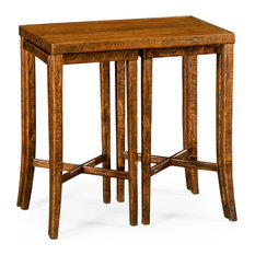 Nesting Cocktail Tables Country Walnut by Jonathan Charles Fine Furniture