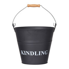 Kindling Bucket in Carbon