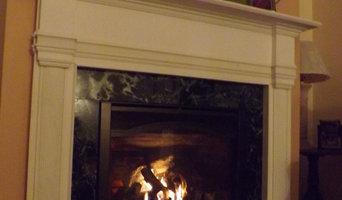 White Mantel Fireplace Insert Allentown