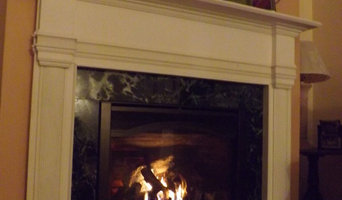White Mantel Fireplace Insert Allentown