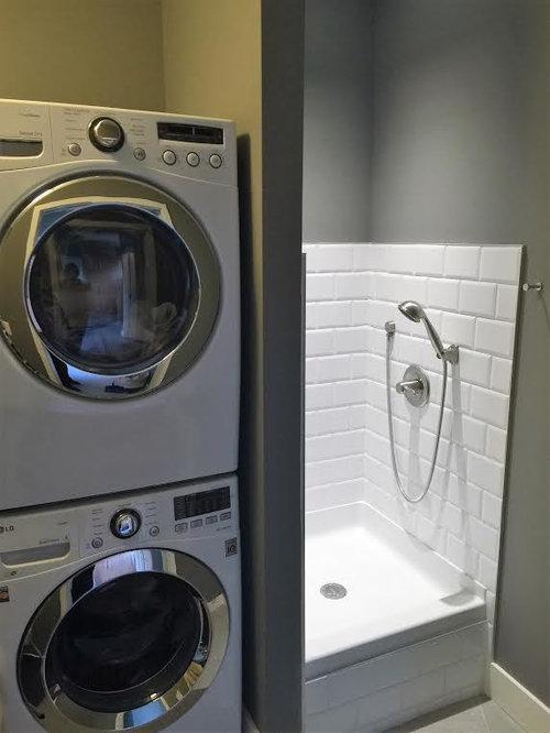 Fotos de lavaderos dise os de lavaderos modernos en - Secadora y lavadora juntas ...
