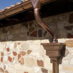 Tuscan home design photo in Salt Lake City