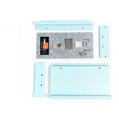 VIVIPET INC - ViviPet Modern Cat Walk Cat Shelf, Mix & Match, Blue - Cat Furniture