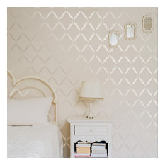 Gypsy Mint Stencil Co The Moroccan Reusable Mylar Wall By