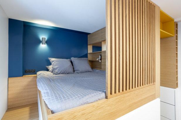 Современный Спальня by ARCHITECT + DESIGNER