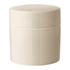 Anne Black Contain Jar, Cream, High, Medium