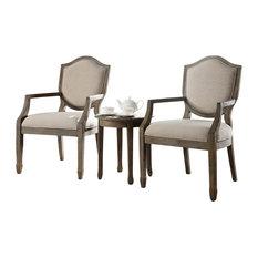 FurnitureImportExportIncKourtneyAccentArmChairAndTableSetAntique