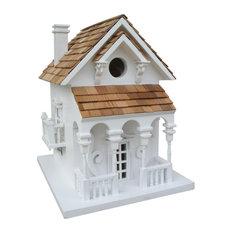 Honeymoon Cottage Birdhouse with Bracket