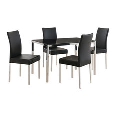 Contemporary Dining Room Table And Chairs contemporary dining room sets | houzz