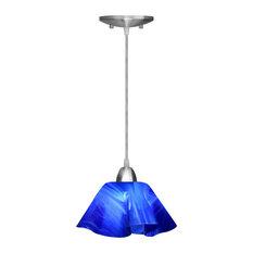 Cobalt Blue Pendant Lighting Houzz