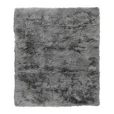 Sheepskin Rug, Gray, 9.6'x13.6'