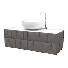 Bianchini & Capponi Diamantato Floating Vanity Unit, 123 cm