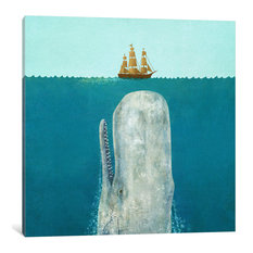 """""""The Whale Square Gallery"""" by Terry Fan, 12x12x1.5"""""""