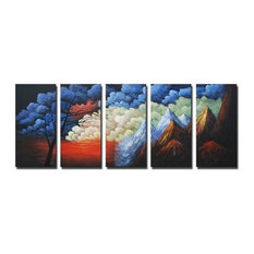 """The Badlands, Wall Tapestry, 32""""x80"""""""