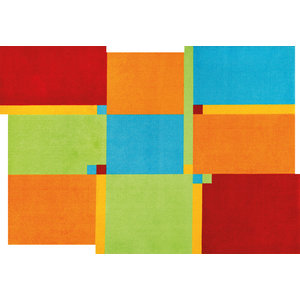 Living Squares Door Mat, Multicoloured, 200x140 cm